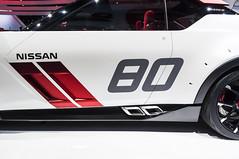 Nissan 80 (GmanViz) Tags: color detail car nikon automobile nissan stripes pipes detroit autoshow concept naias nismo idx d90 gmanviz