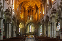 Pershore Abbey (John Ibbotson (catching up!)) Tags: church abbey architecture medieval worcestershire ecclesiastical pershore