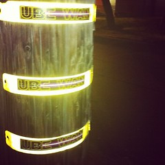 548522_114957781996438_96074247_n (ube1kenobi) Tags: streetart art graffiti stickers urbanart stickertag ube sanfranciscograffiti slaptag newyorkgraffiti losangelesgraffiti sandiegograffiti customsticker ubeone ubewan ubewankenobi ubesticker ubeclothing