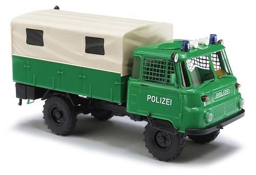 Busch Robur LO 2002A Polizei