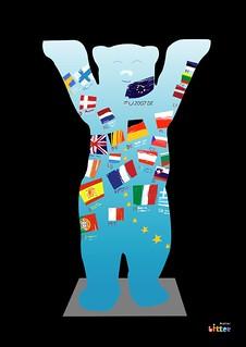 """Entwurf für """"EU-Bär"""" (2007)"""