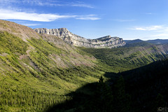 Chinese Wall (GWD Photography) Tags: wild mountain wall forest sunrise canon rockies eos montana mt chinese bob wideangle marshall backpacking valley bmw backcountry 5d wilderness 1740mm select markii chinesewall