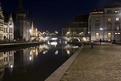 Korenlei, Ghent (Tetramesh) Tags: tetramesh gent gand ghent oostvlaanderen vlaanderen eastflanders flanders belgië belgien belgique belgium korenlei