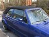 VW Golf I mit Akustik Luxus Verdeck von CK-Cabrio mit seitlichen Regenrinnen