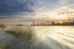 Sunrise ( Jenco van Zalk) Tags: lake holland water netherlands sunrise landscape nikon day cloudy lee landschap veluwemeer leefilter jenco wsweekly72