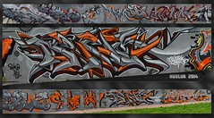 Yo soy un tio del sur (MR. BURNHUMANZ) Tags: gris graffiti sevilla huelva cream crew naranja tortilla barbacoa wildstyle abdt