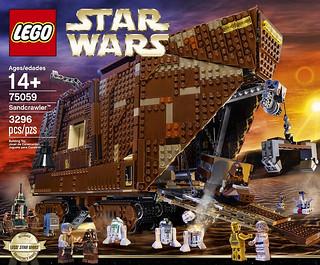 LEGO® 75059 Star Wars 系列【沙漠爬行者】Sandcrawler