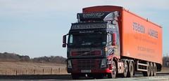 J. A. Stevenson Avonbridge Volvo FH MX58 ZXR (Kilmachalmag) Tags: trucks bales bulk lorries sawdust woodchip lorrys bulker