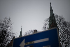 spires (n.and) Tags: church horizontal architecture stockholm spire arrow 2x3 d7000 nadyaandreenko