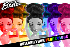 Unleash Your True Colors! (CheeChee FIickr) Tags: 2005 girls color colors girl beauty true fashion monster felicia fur real toys for spread high rainbow model colorful doll with princess head 4 barbie dana style games disney phoebe your jade passion only after sasha yasmin girlz ever couture haute bratz cloe integrity fianna unleash nevra gamez meygan roxxi realbratz