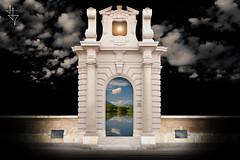 Le Porte dell'Utopia - XII (con Paolo Dell'Angelo) (Winter Guest) Tags: door puerta gate porte castello cagliari portale casteddu casteddesusu