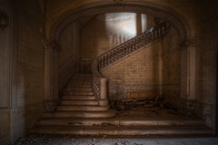 Steps (solapi would like being explored once in a while) Tags: abandoned beautiful stairs rusty creepy spooky horror chateau derelict hdr escaleras oriol ribera urbex dekay catalunyahdr oncewashome solapi oriolribera