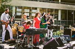 04.10.2014 (jdj106) Tags: music white rock portland drums spring guitar band sunny roland funk yamaha instruments arp psu electricguitar portlandstateuniversity funkband