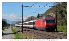Re 460 054-2 (CC72080) Tags: train sbb locomotive cff re460 interrégio versvey