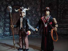 Role Reversal (blackbarn2012) Tags: actionfigures indianajones templeofdoom molaram ljn battlematicaction