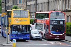 324 & 527 (Callum's Buses & Stuff) Tags: bus buses volvo edinburgh lothian madder lothianbuses edinburghbus madderandwhite madderwhite
