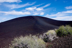 Craters of the Moon - National Monument & Preserve (Airton Morassi) Tags: park old camping parque nature america united explosion reserve national eua vulcan states nacional eruption vulo