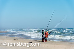 Cape Cross, Namibia - Seal reserve .Cape Fur Seals (Remsberg Photos) Tags: ocean africa landscape fishing fisherman waves working reserve seal blueskies namibia capecross catchingfish capefur skelotoncoast