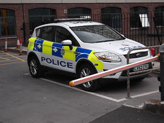British Transport Police Ford Kuga (LX62CYC) (Neil 02) Tags: liverpool policecar merseyside btp emergencyservices policevehicle britishtransportpolice fordkuga lx62cyc