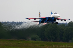 (Artyom Anikeev) Tags: plane canon airplane fighter russia aviation airforce spotting avia sukhoi planespotting kubinka uumb anikeev artyomanikeev