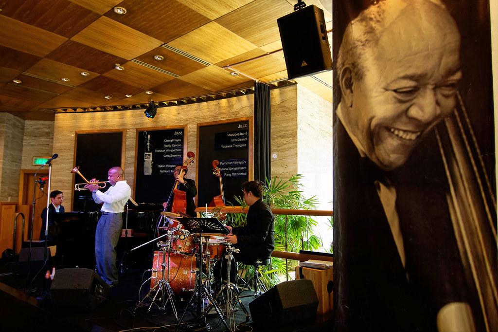 Jazz At The Living Room Sheraton Bangkok Asiacamera Tags Thai