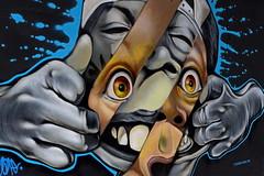 Gone 2 (N808PV) Tags: art wall painting graffiti bangkok lx7 ratchathewi