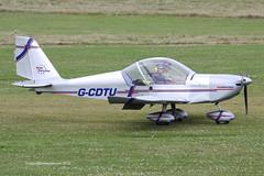G-CDTU - 2005 build Aerotechnik EV-97 Eurostar, visiting Barton (egcc) Tags: manchester eurostar barton microlight rotax 2522 cityairport ev97 aerotechnik evektor egcb rotax912 gcdtu gcdtugroup