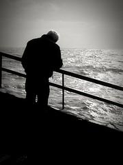 B&N (lucianoserra490) Tags: maredinverno biancoenero mareggiata genovacitta lungomare