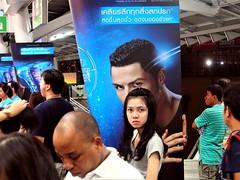 ronaldo in bkk (roman.gieszczyk) Tags: street ronaldo bangkok thailand portrait travel olympus asia people woman