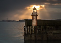 The Understudy (Pureo) Tags: burntisland lighthouse light firthofforth fife water waterscape pier scotland canon canon6d canon70200f28isusm2