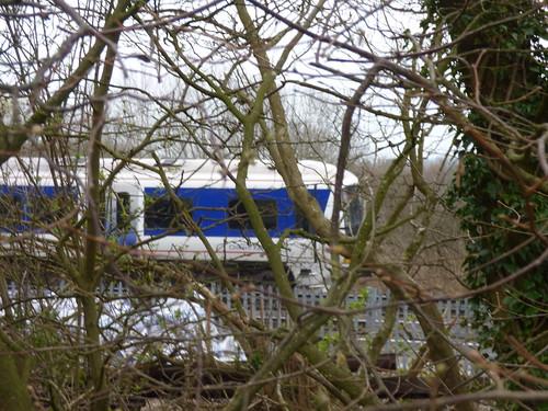 Railway line near the Grand Union Canal, Hatton - Hatton Station - Chiltern Railways Class 165