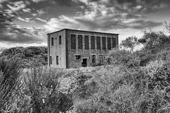 Ardeer Munitions Factory (Lindsey Collie) Tags: abandoned monochrome factory ww2 nobel ici munitions ardeer
