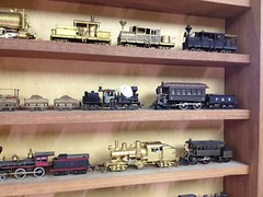 Part of My HO Scale Brass Steam & Diesel Collection (bslook1213) Tags: scale o models s ktm collection shay locomotive ho balboa brass climax kmt scalemodels heisler on3 hon3 inspestion