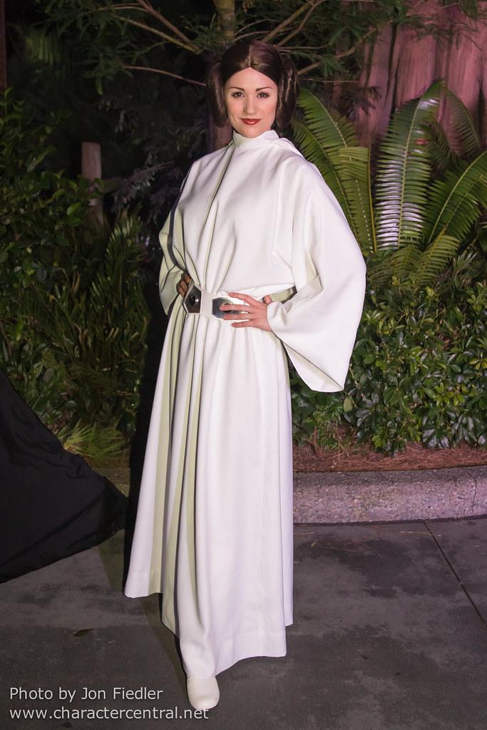 Princess Leia Organa at Disney