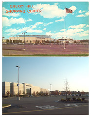 Cherry Hill Mall Exterior Then and Now (JSF0864) Tags: retail shopping store exterior center department strawbridgeclothier cherryhillmall