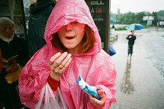 (k_n_u_f) Tags: rain prague chocolate olympus raincoat zuiko olympusom10 superia200 2428