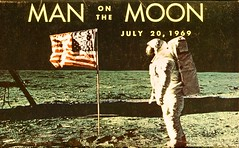 Man On The Moon, July 20, 1969 (SwellMap) Tags: industry vintage advertising design flying pc 60s technology fifties satellite postcard suburbia style kitsch science ufo retro nostalgia chrome americana spaceship 50s googie populuxe sixties extraterrestrial saucer babyboomer consumer coldwar midcentury spaceage atomicage