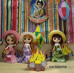 Valentine,Josephine,Kyara e Viva são João!!