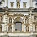 La bella facciata della Iglesia de San Francisco