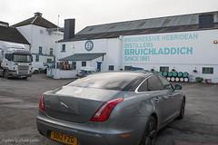 At Bruichladdich (Giles Guthrie) Tags: scotland unitedkingdom islay whisky jaguar distillery bruichladdich x351 gilesguthriecom xjlsupersport