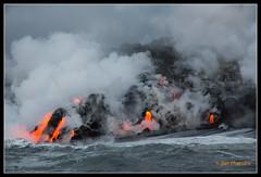 Kilauea Ocean Entry 3522 (maguire33@verizon.net) Tags: hawaii lava unitedstates bigisland hawaiivolcanoesnationalpark kilauea phoa canon5dmarkiii pāhoa canoneosef24105f40lis