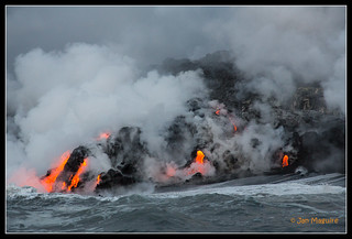 Kilauea Ocean Entry 3522