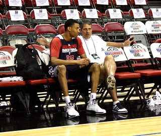 Otto Porter and Randy Wittman - 2013 NBA Summer League