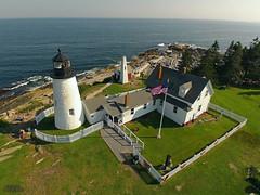 KAP 2013-07-05 Pemaquid Lighthouse ME (N-Blueion) Tags: lighthouse maine kap pemaquid kiteaerialphotography