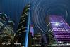 Sydney Star Trails (Kiall Frost) Tags: city bridge sky night stars harbour sydney vivid australia operahouse sydneyharbour startrails 2013 kiallfrost