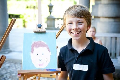 Schilder je eigen portret in het Rubenshuis (c) Noortje Palmers-62