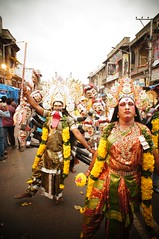 Bonalu Procession (2013) 2 - 184 (Rajesh_India) Tags: india festival festive colorful sony traditional traditions annual procession colourful tradition hyderabad mythology oldcity charminar bonalu 2013