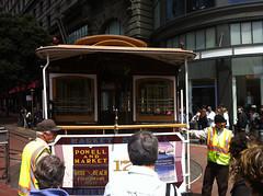Rotating the tram