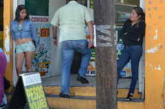 """TJ Prostitutes @ Tijuana red-light district """"La Coahuila"""" (also know casually as Zona Norte) (Navymailman) Tags: ladies girls light red woman lady female standing mexico calle mujer district prostitute mexican tijuana hooker zona tj coahuila norte standinggirl paraditas"""