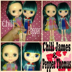 Introducing Chili James & Pepper Thomas